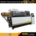 Cut To Length [ Stirrup ] Stirrup Machine Gute High Quality Construction Machine Rebar Bender Type Double Wire Stirrup Bending Machine