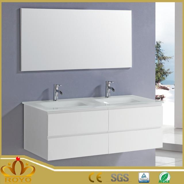 RA024 Bathroom Furniture Double Basins,sink Vanity,bathroom Double Wash  Basin