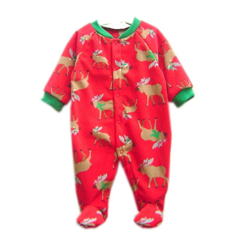 2016 Newborn Uni Cartoon Wool Baby Clothes Romper For