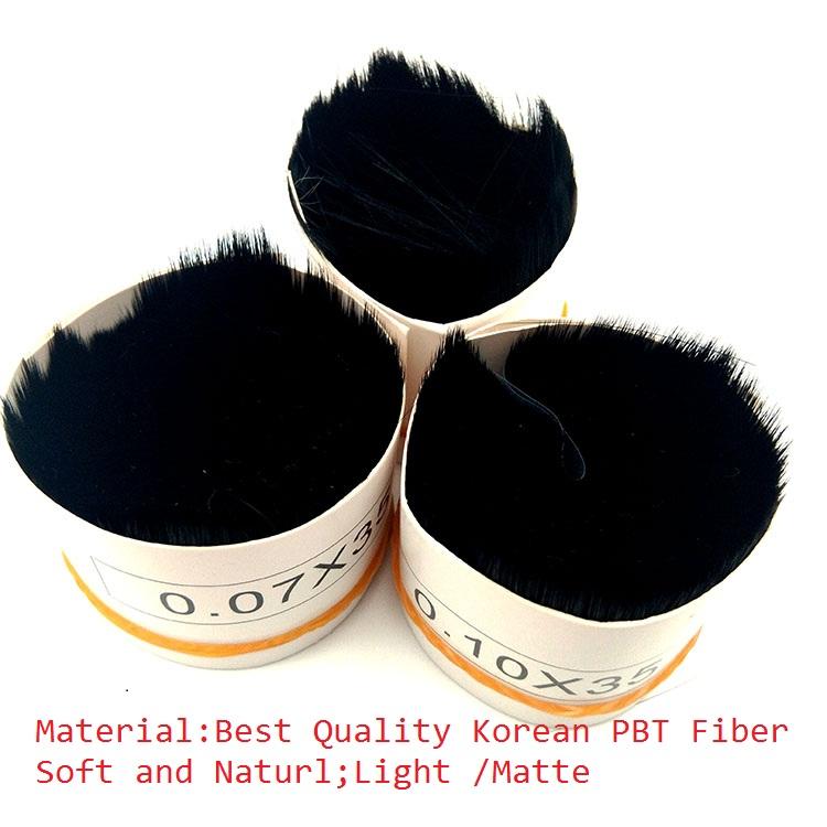 Luxury Deep Black Matte Faux Mink Eyelashes extensions individual premium cashmere Ellipse Flat Lashes
