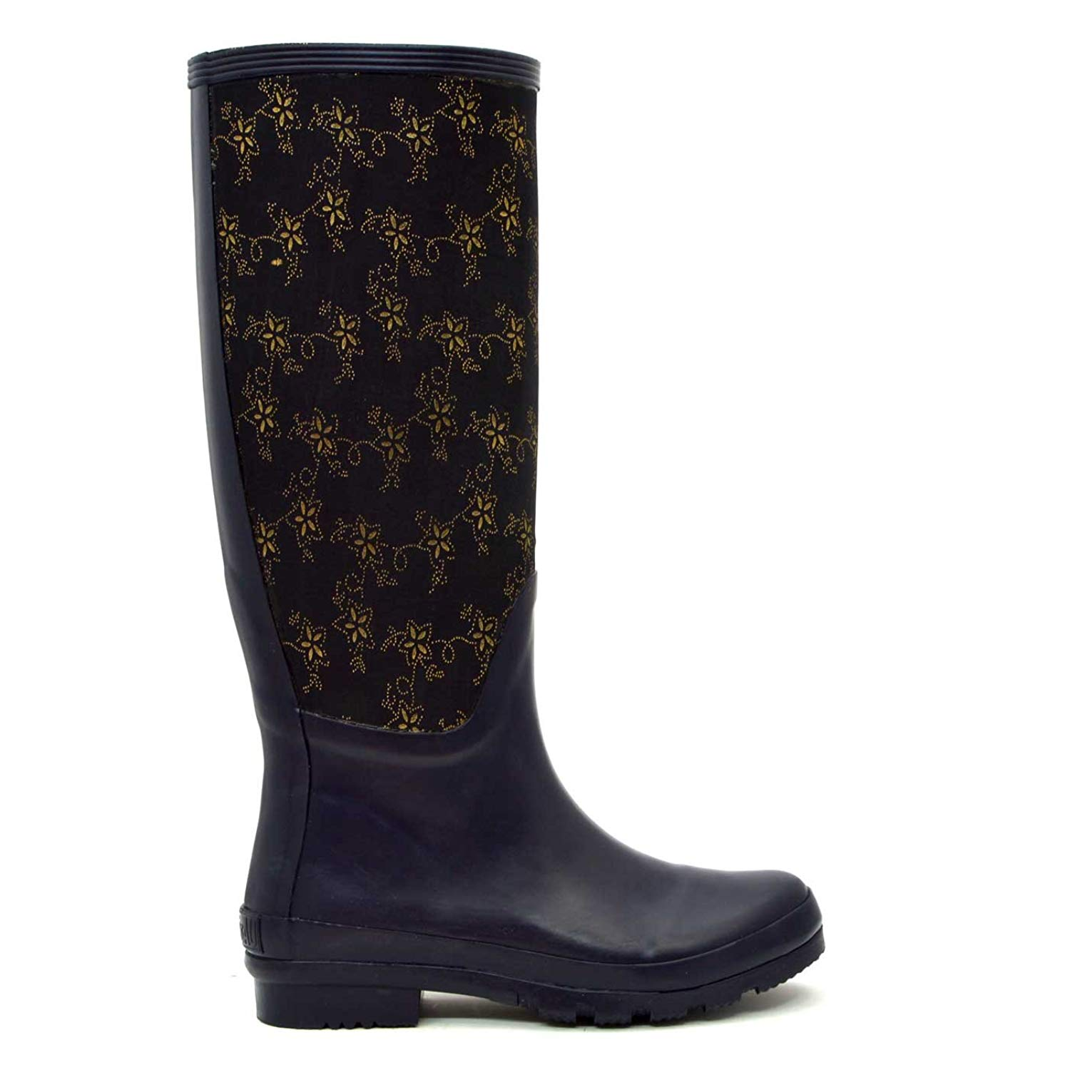 5b8e90e4ad47d Get Quotations · Navy Royale Waterproof Gumboots