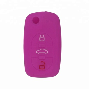 Japan hot sell car accessories made in China silicone car key case