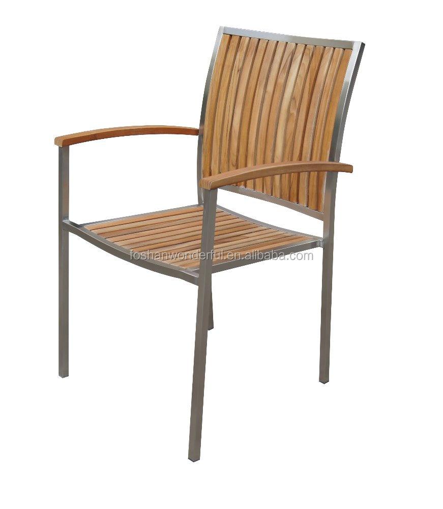 Venta al por mayor silla teka compre online los mejores for Muebles de teka para jardin