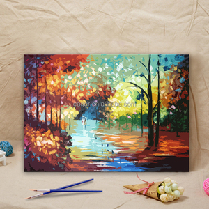 Hot Sale low Prices Landscape Picture Wall Art Canvas Painting by Numbers