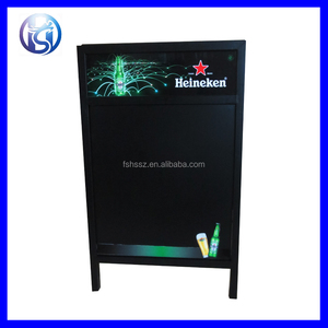 HS-S01 Outdoor Sign Stand Advertising Stable A Frame Menu Board Poster Stand