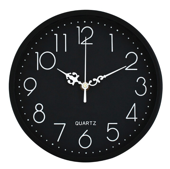 12inch Plastic 3D Number Promotional Wall Clock