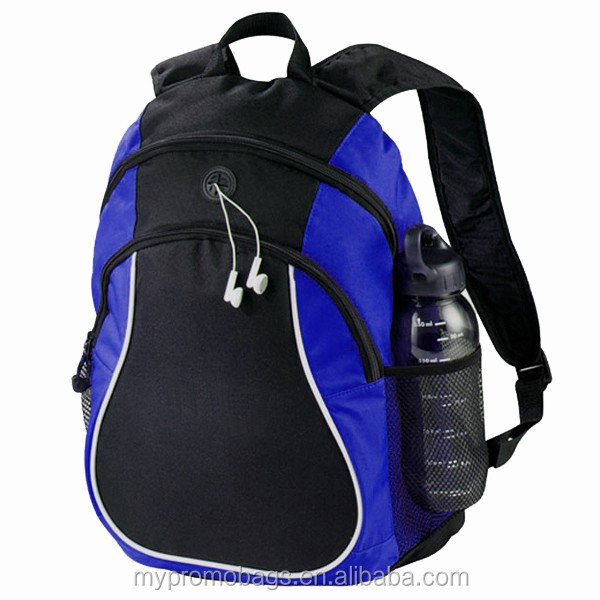 Wholesale bags for men backpack high quality double-zippered compartment travelling backpack