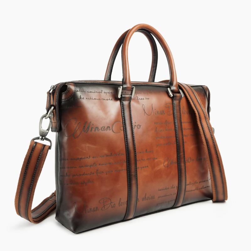 Minandio Guangzhou Factory Genuine Leather Office Bags For Men ...