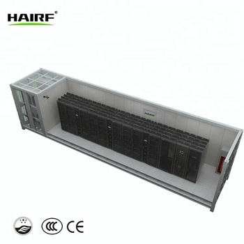 40ft Bitcoin Mining Asic Antminer Container Data Center With Fan Cooling  System - Buy Bitcoin Miner,Container Data Center,Asic Bitcoin Miner S9