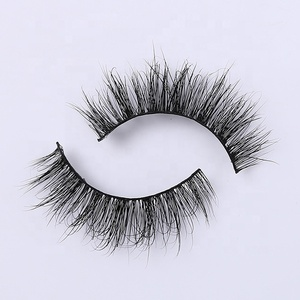 Wholesale new style private label korean soft real mink eyelashes prices
