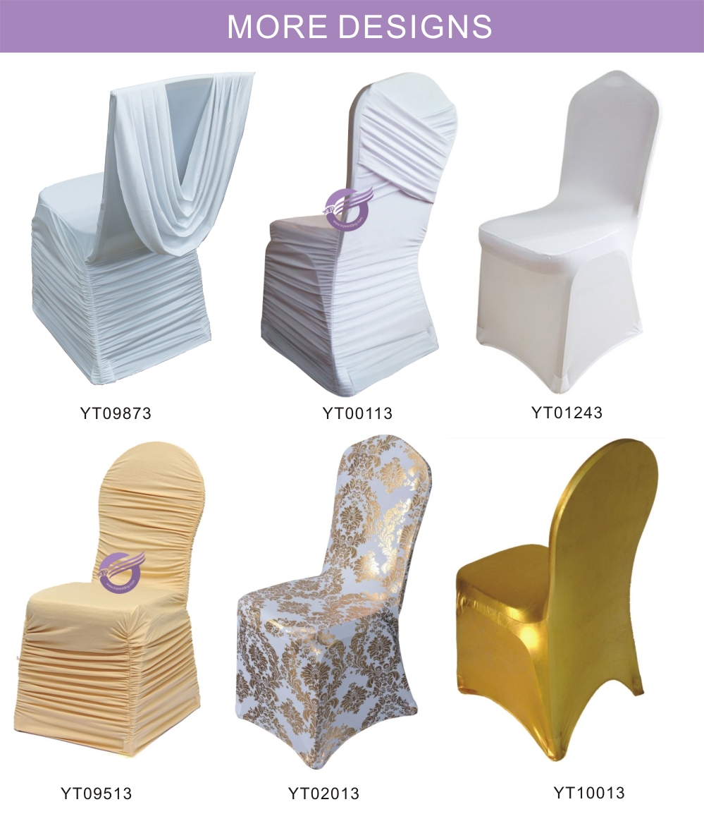 BS00032-8 wedding satin chair sash for banquet chair cover