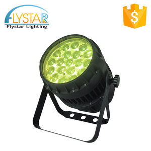 Best product 19pcs 280w power par can light 4in1 rgbw color changing led lights rotating stage zoom light