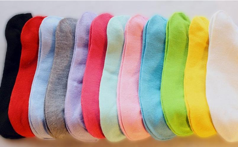 2015 новые конфеты цвет женщины короткие лодыжки лодка глубоким вырезом спортивные носки экипажа свободного покроя