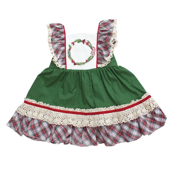 f4a2b3be659d 2018 baby girl remake boutique dress kids Christmas clothing wholesale children  girls woven cotton dresses