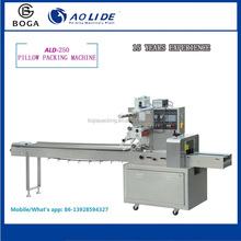 Saving time and film computer control Pillow vitellus-pie packaging machine