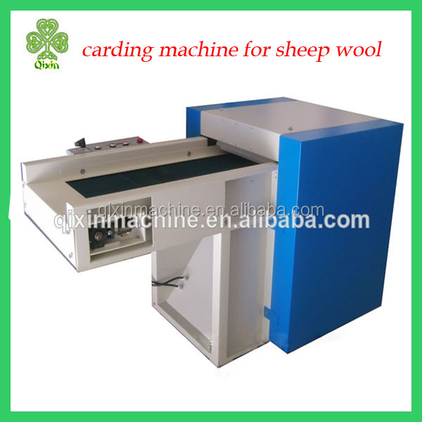 new generatin 30-50kh/h carding machine for sheep wool