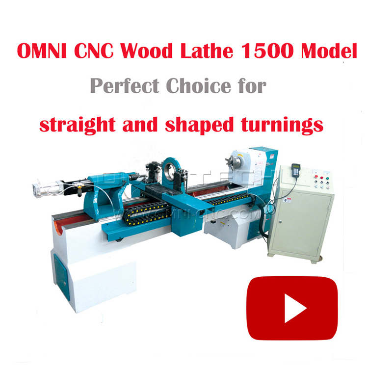 Omni Multifunctional Automatic wood lathe machine