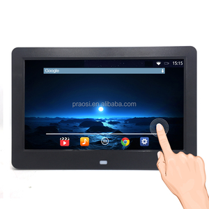hd 1280x800 IPS screen Android 6.0 system wifi touch screen advertising signage display screen 10