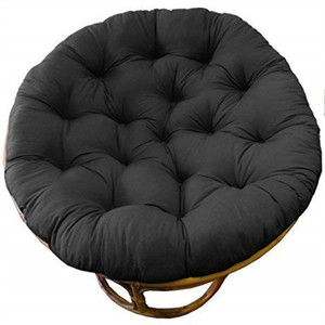 Overstuffed Chair Cushion, Sink into our Thick Comfortable and Oversized Papasan, Pure 100% Cotton duck fabric