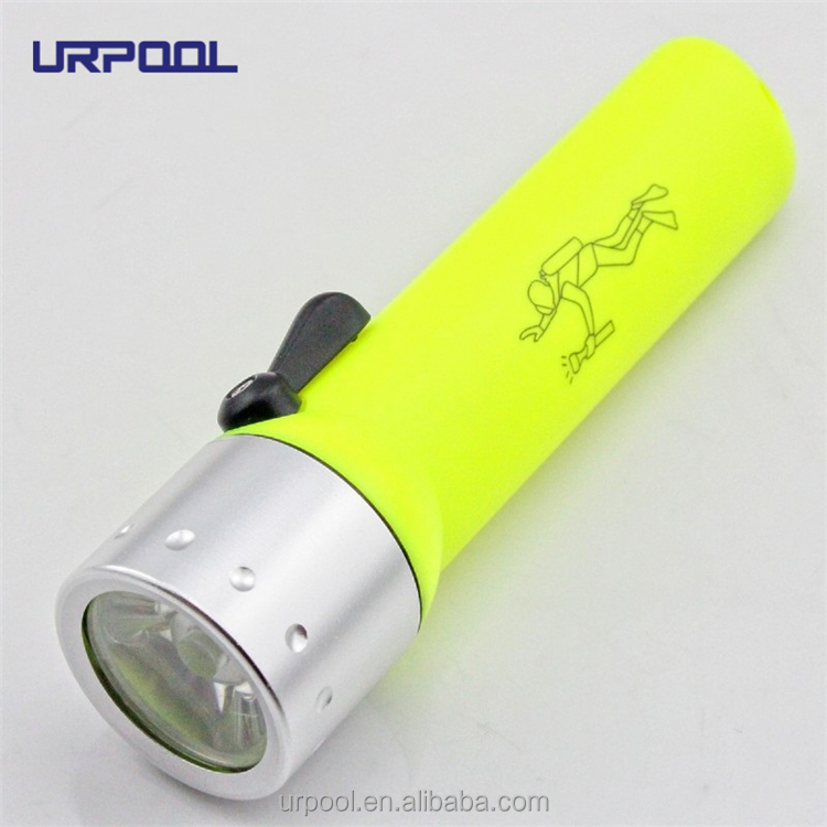 2016 Professional Waterproof ABS LED Diving Flashlight 4*AA 800 Lumens Q5 Diving Torch Flash Light lanttern Underwater Lights