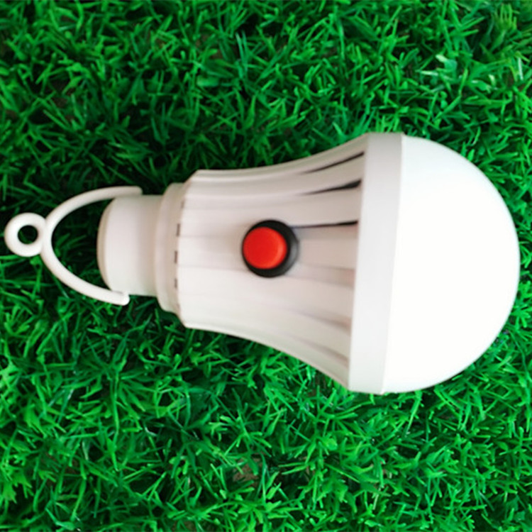 china suppliers Novelty Button Switch 12W smart led light bulb USB 5V rechargeable led bulb emergency Light