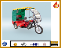 CNG three wheel motorcycle for passengers