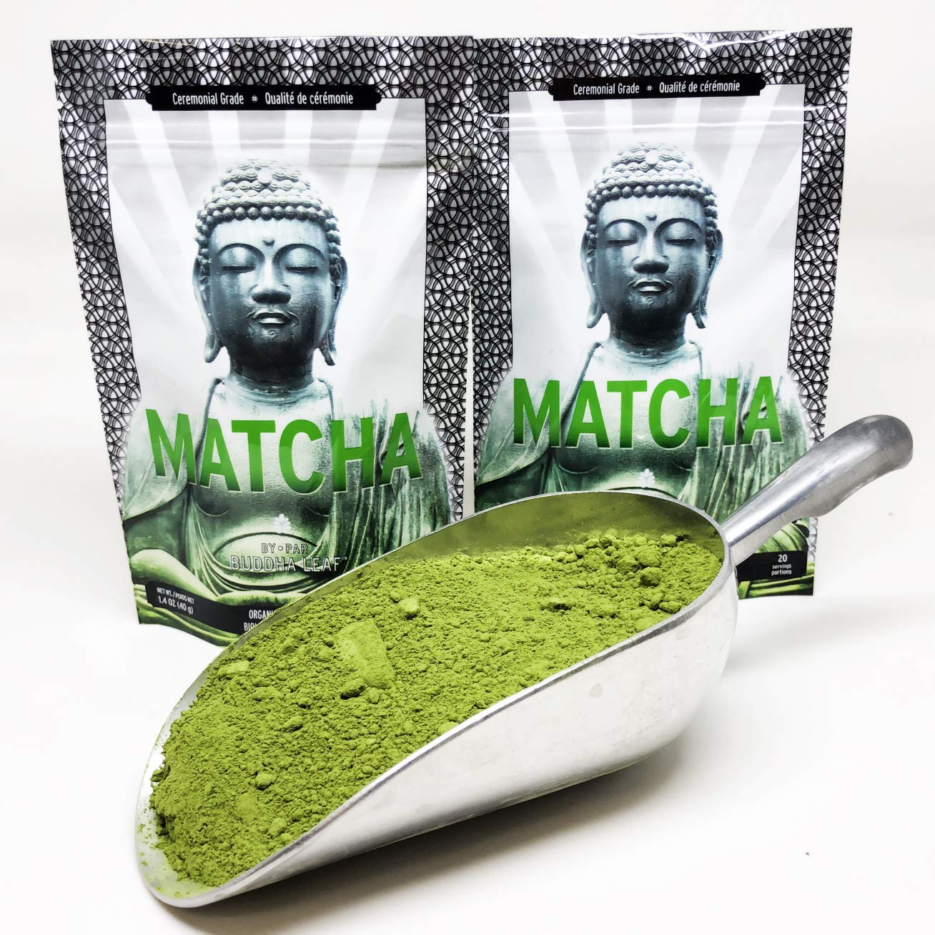 Matcha Green Tea Powder Ceremonial Grade - Japan's highest grade green tea – Made from Gyokuro: Organic, Gluten Free, Unsweetened & Sugar Free. The ideal pure green tea to be served by itself.