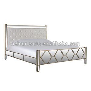 Hot Selling wholesale China Manufacturer modern mirrored bedroom furniture