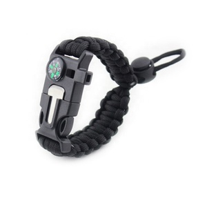 Factory direct supply survival paracord bracelet