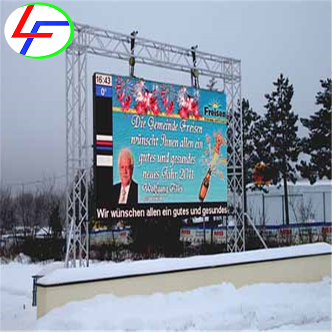 outdoor p16 commercial rental for gray level 14 - bit led screen P6 LED Advertising billboards