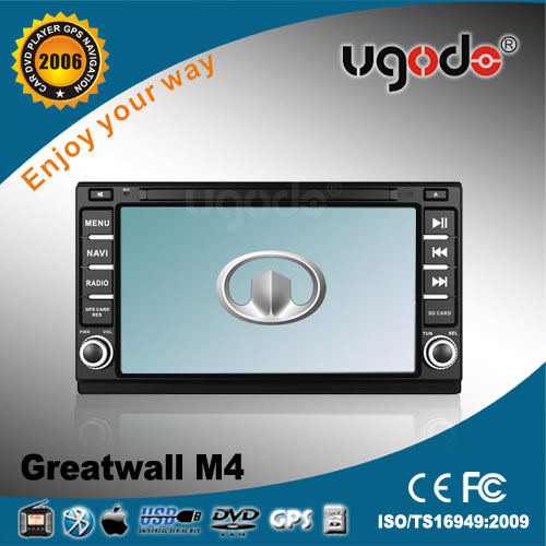 wholesale Chinese Auto radio for Great wall M4 with built in DVD GPS radio bluetooth USB IPOD TV