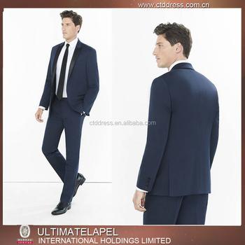 Tailor Made 2 Button Tuxedo Lapel Wedding Suits For Men Italian ...