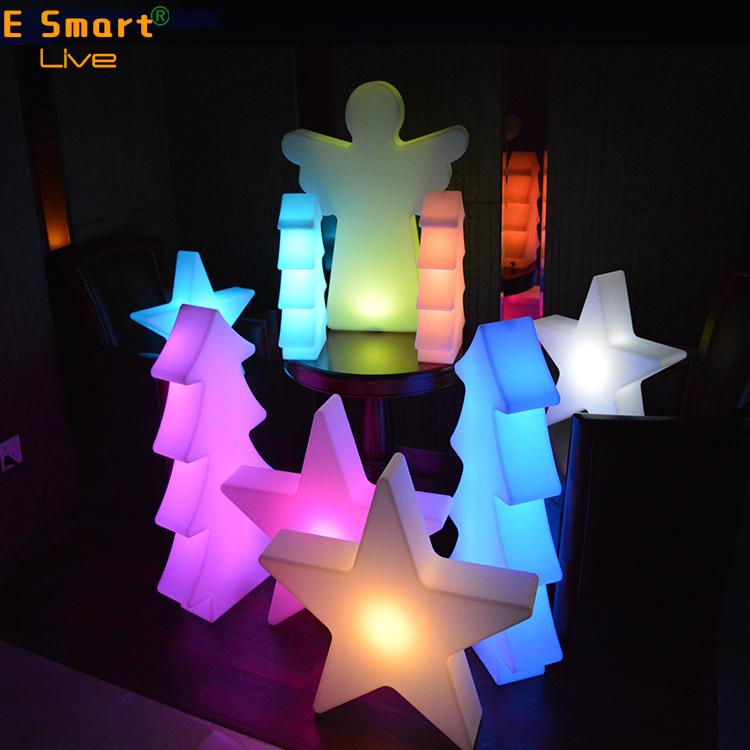 Al aire libre gigante árbol de Navidad/vacaciones led árbol de Navidad de estrella Led/led árbol de Navidad de estrella
