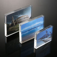 wholesale clear acrylic digital desk photo frame