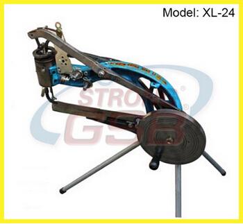 shoe repairing machine