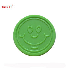 Promotional Embossed Plastic Tokens