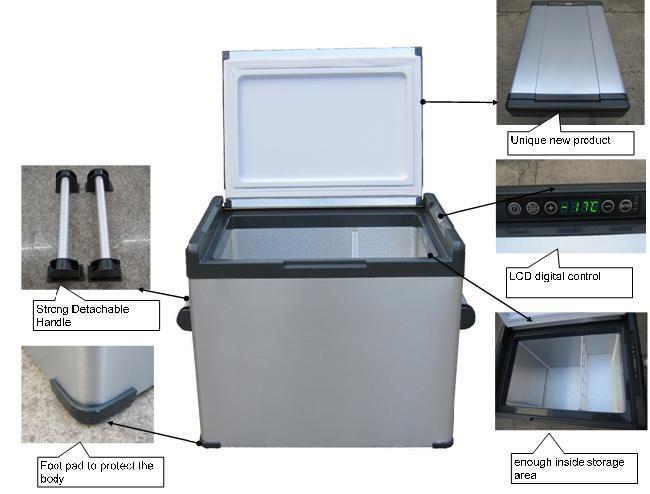 Compressors Cooler And Warmer Auto Fridge 12v Car Portable Fridge For  Travel Solar Power Car Mini Fridge - Buy Compressor For Beverage  Cooler,Used