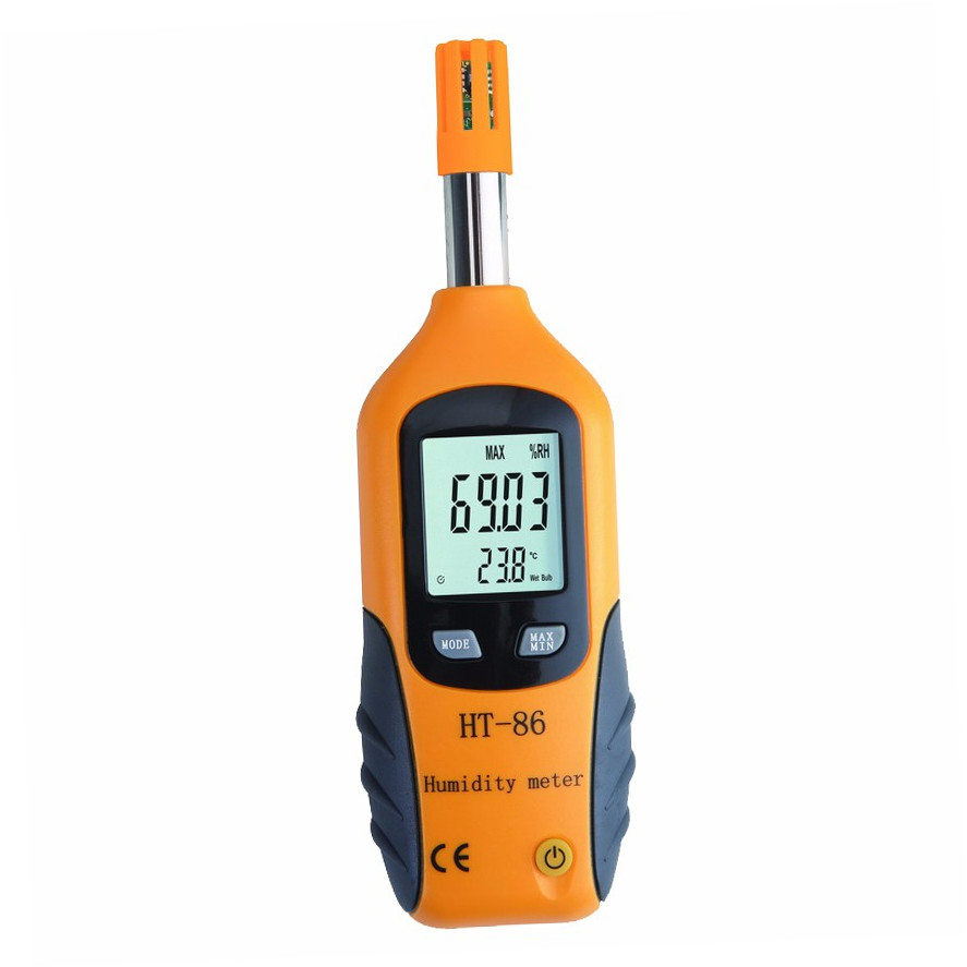 Multi-function Digital temperature and humidity instrument portable hygrometer and thermometer - KingCare | KingCare.net
