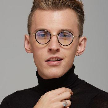 71141f20d94 2017 New Fashion Metal Round Frame Vintage Retro Style Glasses Brand Design Eyewear  Frame Eyeglasses sunglasses