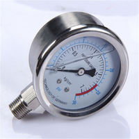 Specially designed Hot Sale High Quality clear to read air conditioning pressure gauge water pressure gauge lowes