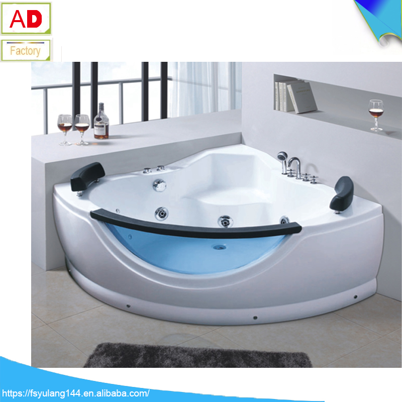 Ad-1705 1200*1200mm Very Small Corner Bathtub Indoor Whirlpool Hot ...