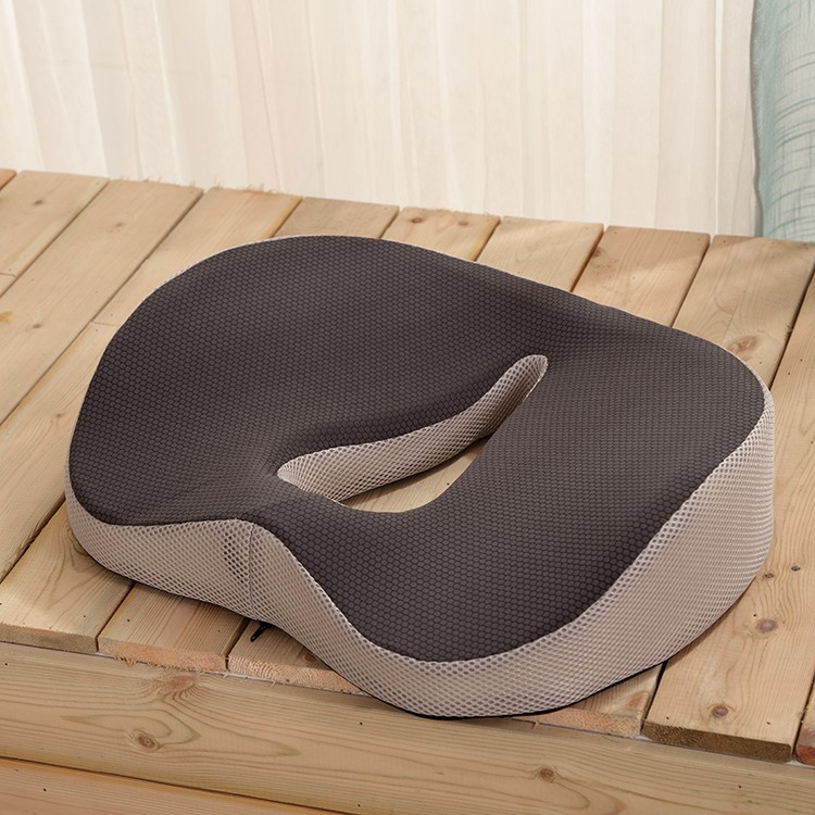 Coccyx orthopedic comfort foam seat cushion