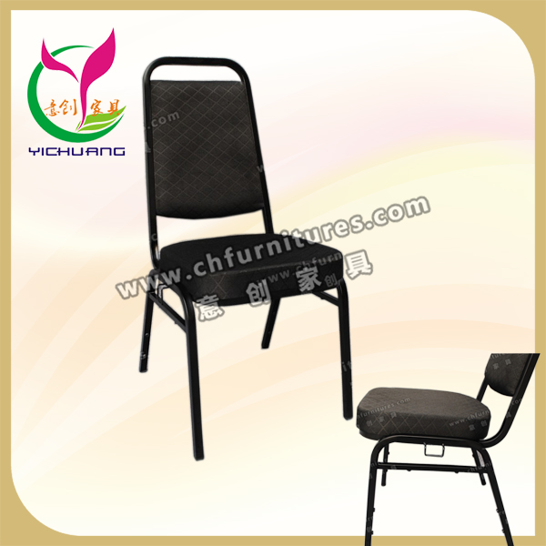 China supplier steel pipe chair stable frame elegant vintage industrial metal chair YC-ZG23