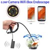 Wireless Endoscope, Depstech WiFi Borescope Inspection Camera 2.0 Megapixels HD Snake Camera for Android
