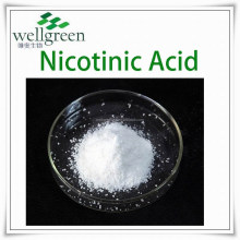 Great Supplier of Hot Selling ISO Certified Top Quality 99% Nicotinic Acid (Vit.B3) at factory price, CAS.59-67-6