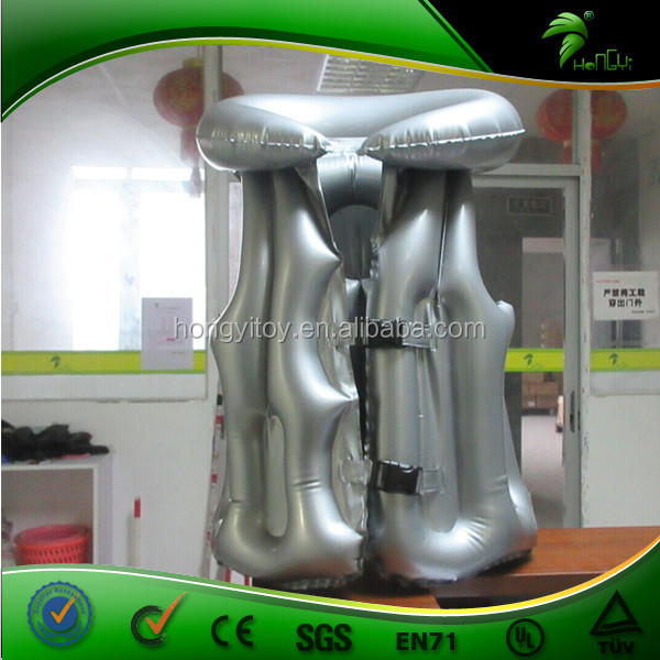 Handmade Inflatable Straight Jacket,Pvc Floating Life Jacket ...