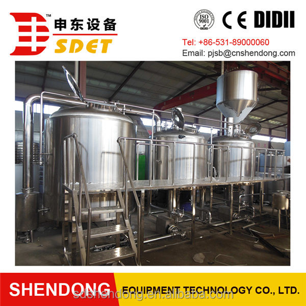 SDET stainless steel micro brewery equipment with electric heating way for sale