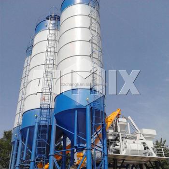 100t Cement Steel Silo Cement Silo For Concrete Batching Plant Buy