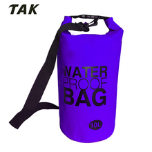 2018 10L Outdoor Camping Flexible Fishing Waterproof Dry Bag