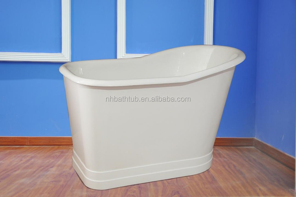 acri and flange p skirted bathtub hand tec double with tiling drain elegance feet right plus home en